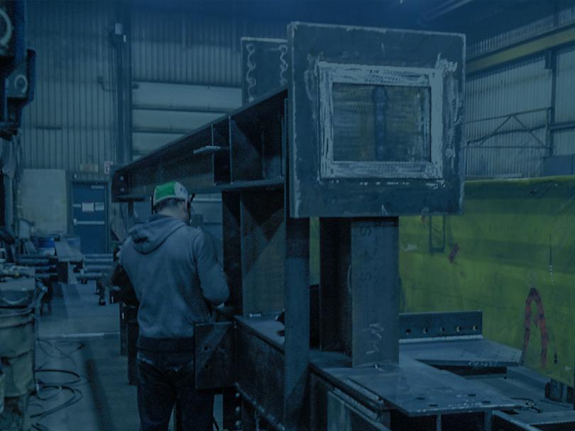 Fabrication de structure d'acier